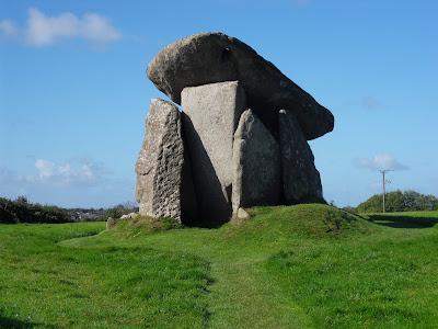 Trevethy Quoit Cornwall