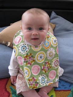 Bazzle Baby has big bibs for baby