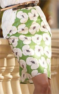 green skirt from downeast basics