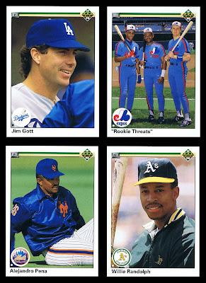 Traded Sets 1990 Upper Deck 701 702 703 704