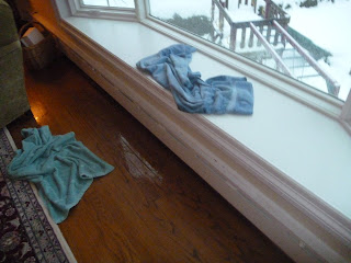 Bronxville Bay Window Videos Of Water Leaking Into Room