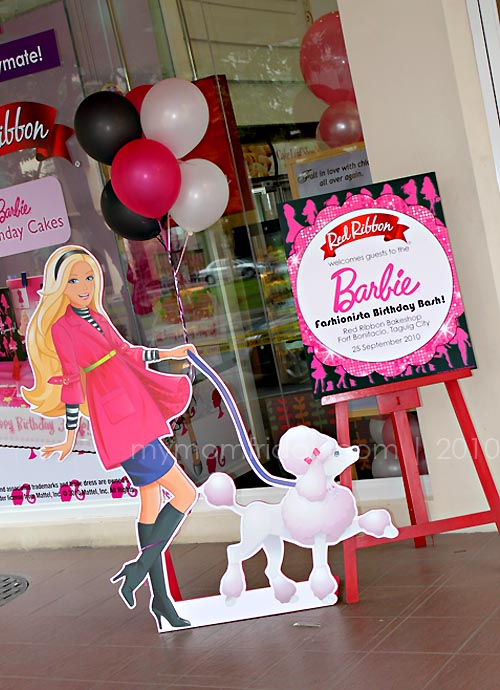 My Mom Friday Foodie Friday Red Ribbons Barbie Birthday Cakes