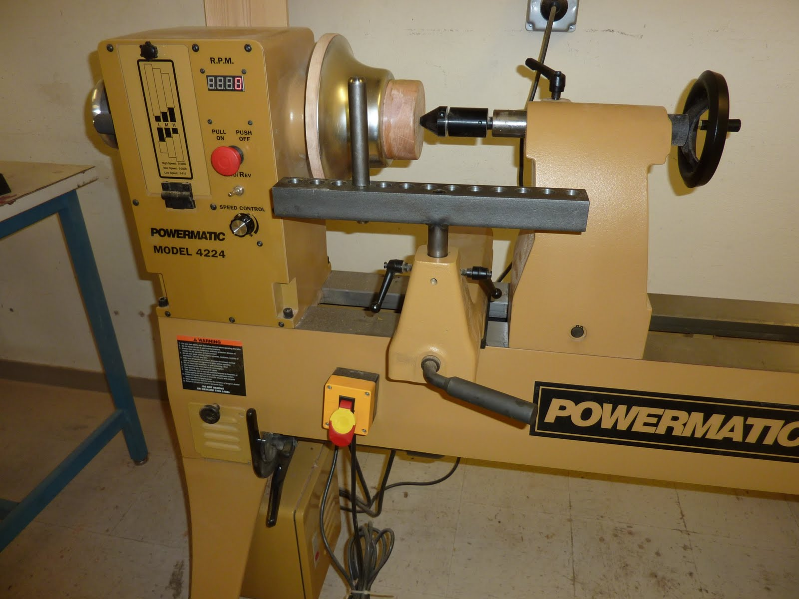 New Metal Spinning Lathe At The Techshop Industrial Arts