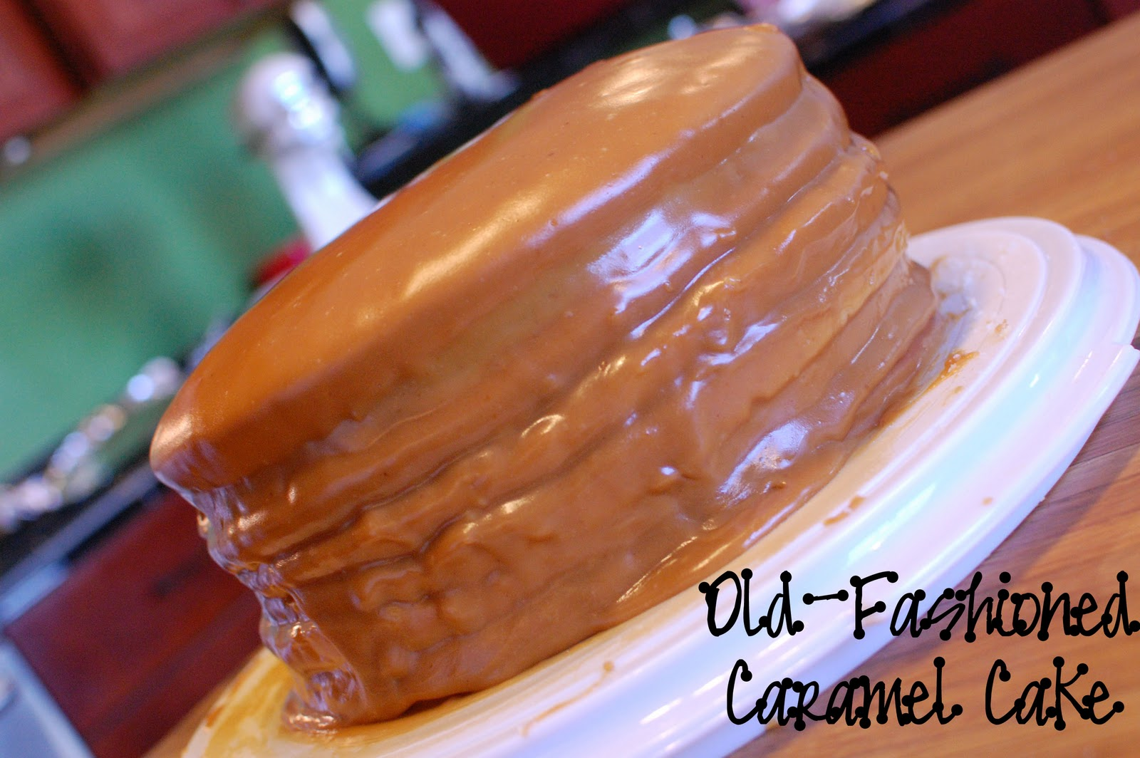 Caramel Cream Cake Recipe From Southern Living