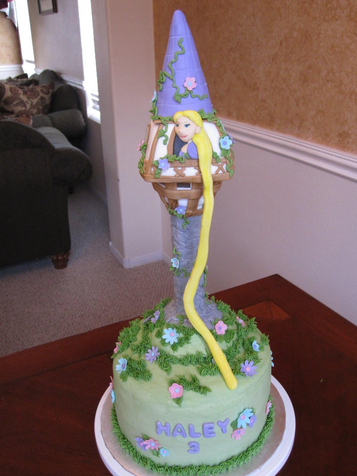 Rapunzel Tower Cake Ideas