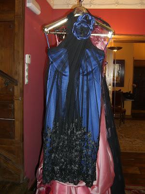 vestido fiesta Josechu Santana