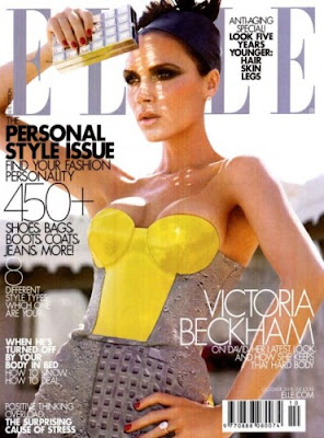 portada Elle Usa Victoria Beckham