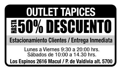 OUTLET TELAS Y TAPICES CANZIANI