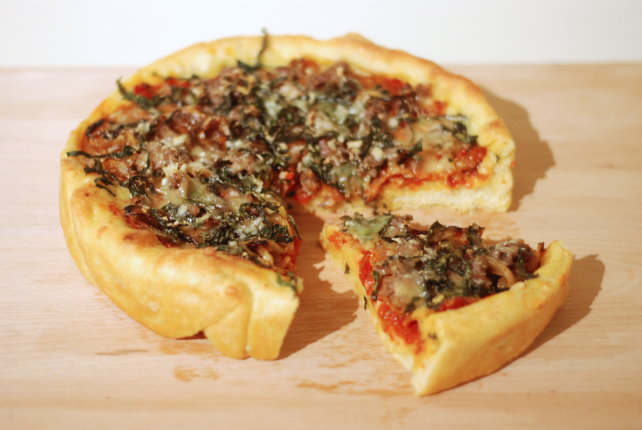 America S Test Kitchen Deep Dish Pizza Dough