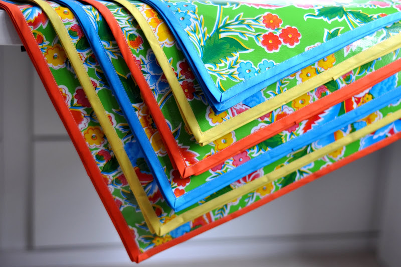 Aesthetic Nest Sewing Quot Flirty Fiesta Quot Oilcloth Tablecloths
