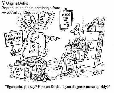The Nocturnal Mind: Psychiatry & Psychology? Narcissism