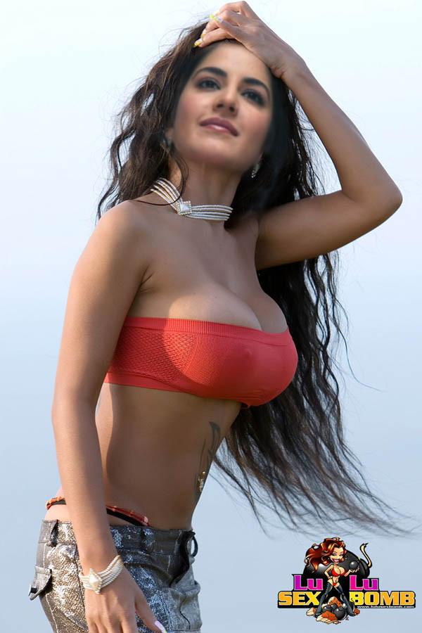 Bollywood Sex World Katrina Kaif Boobs-9027