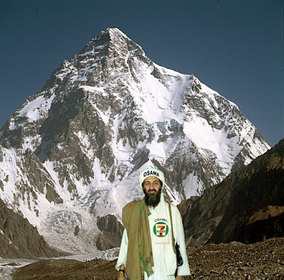 Usama bin Laden in K2 mountains