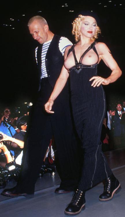 *時尚頑童Jean Paul Gaultier X 流行女王Madonna:搖擺你的Vogue DNA 4