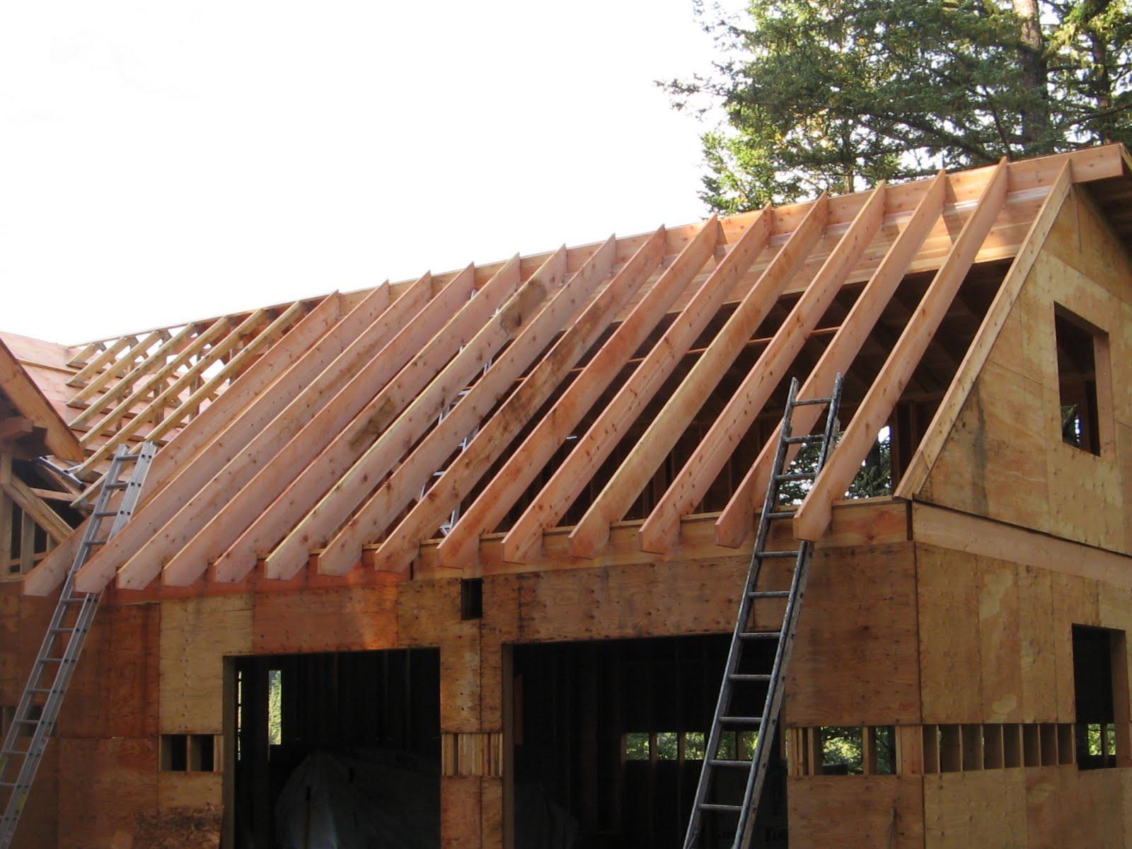 Lock Up To Finish Timberframe Diy Style September 2010