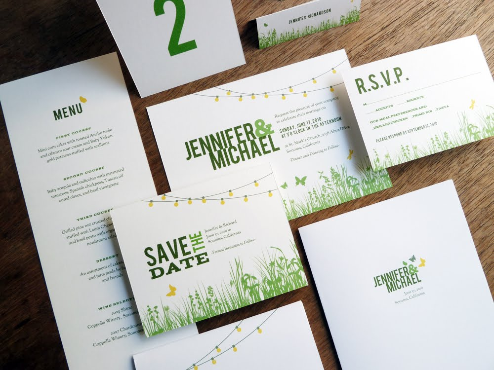 Wedding Invitations Kit: Etsy Germany Street Team: September Giveaway
