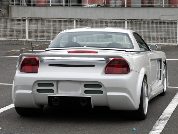 The Toyota Mr2 Is A Two Seat Mid Engined Rear Wheel Drive Sports Car Produced By Central Motors Part Of From 1984 Until July 2007 When