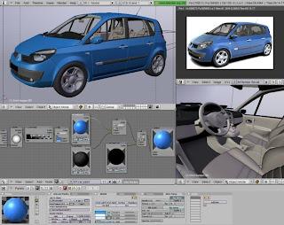Software open source per modellazione e rendering 3d su we for Programmi rendering 3d