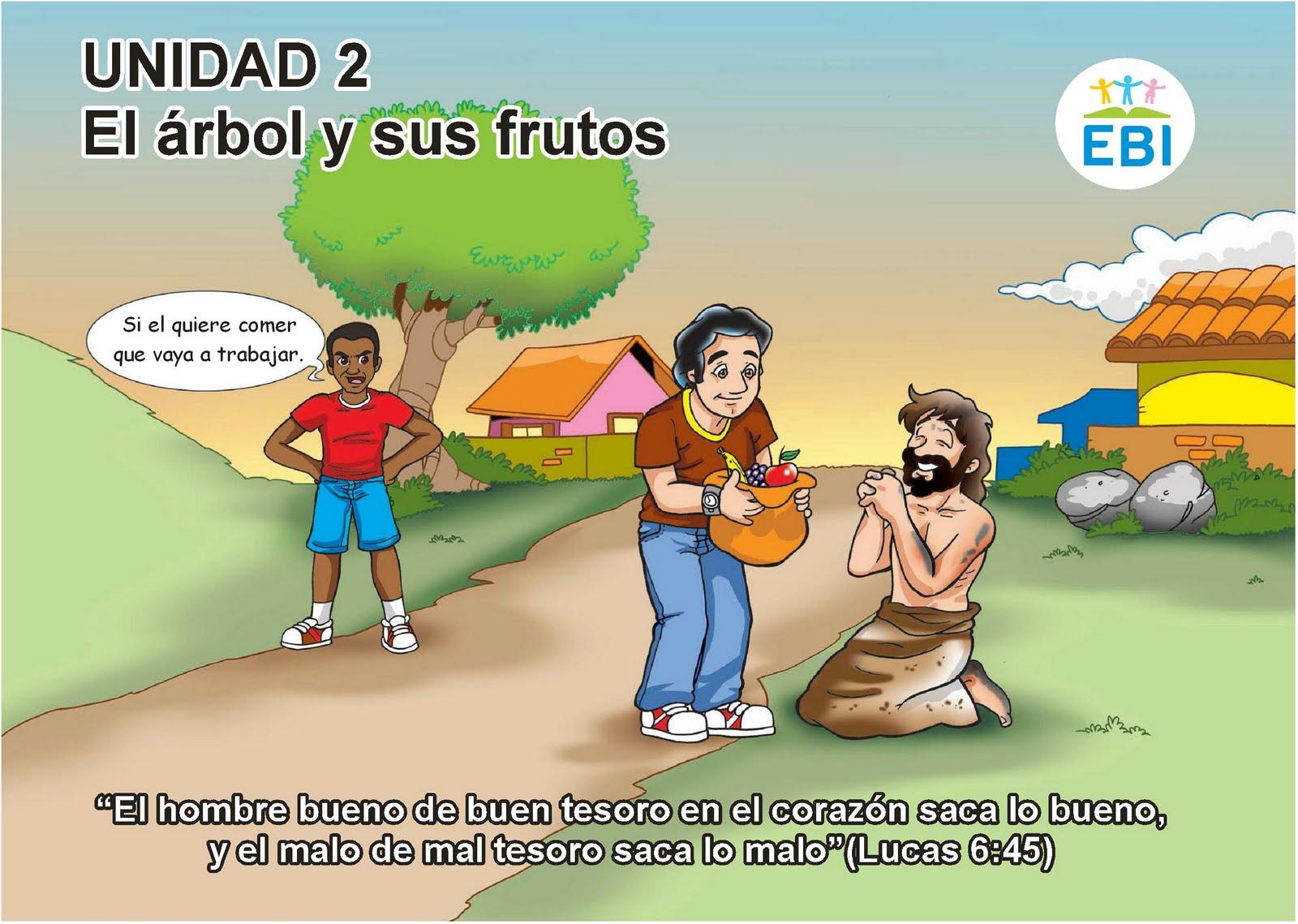 El Arbol De Los Frutos Para NiÑos: Escuelita Biblica Infantil