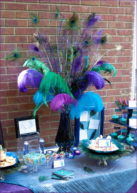 Little Sooti Peacock Themed Engagement Party