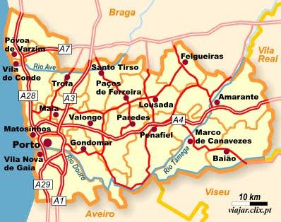 penafiel mapa DESCOBRIR PENAFIEL: MAPA penafiel mapa