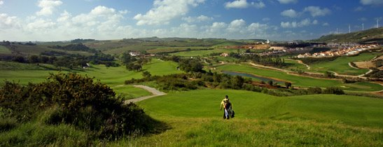 view over campo real golf course