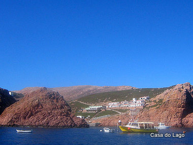 Small fishing village at Berlenga Island