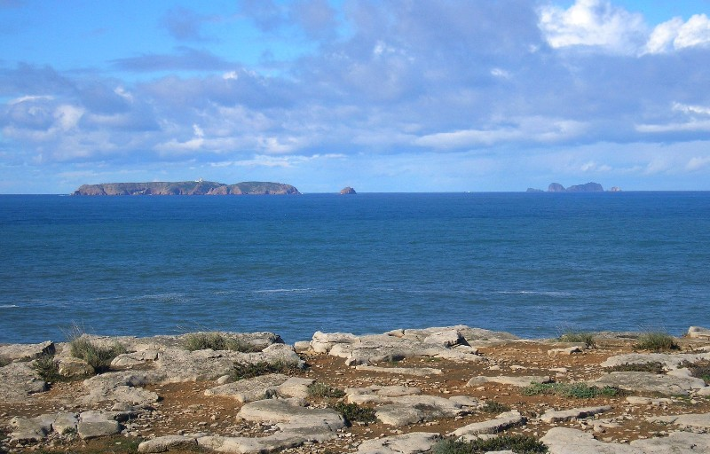 Berlengas archipelago view from Cabo Carvoeiro