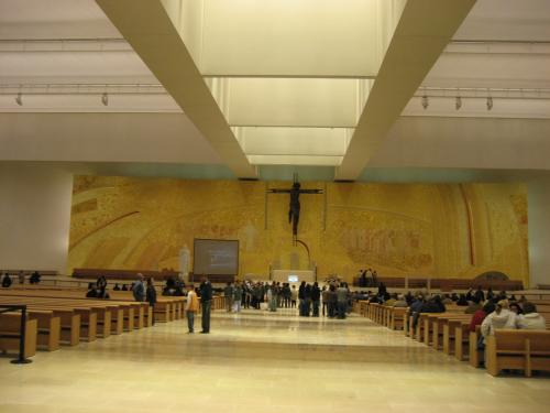 New Basílica interior
