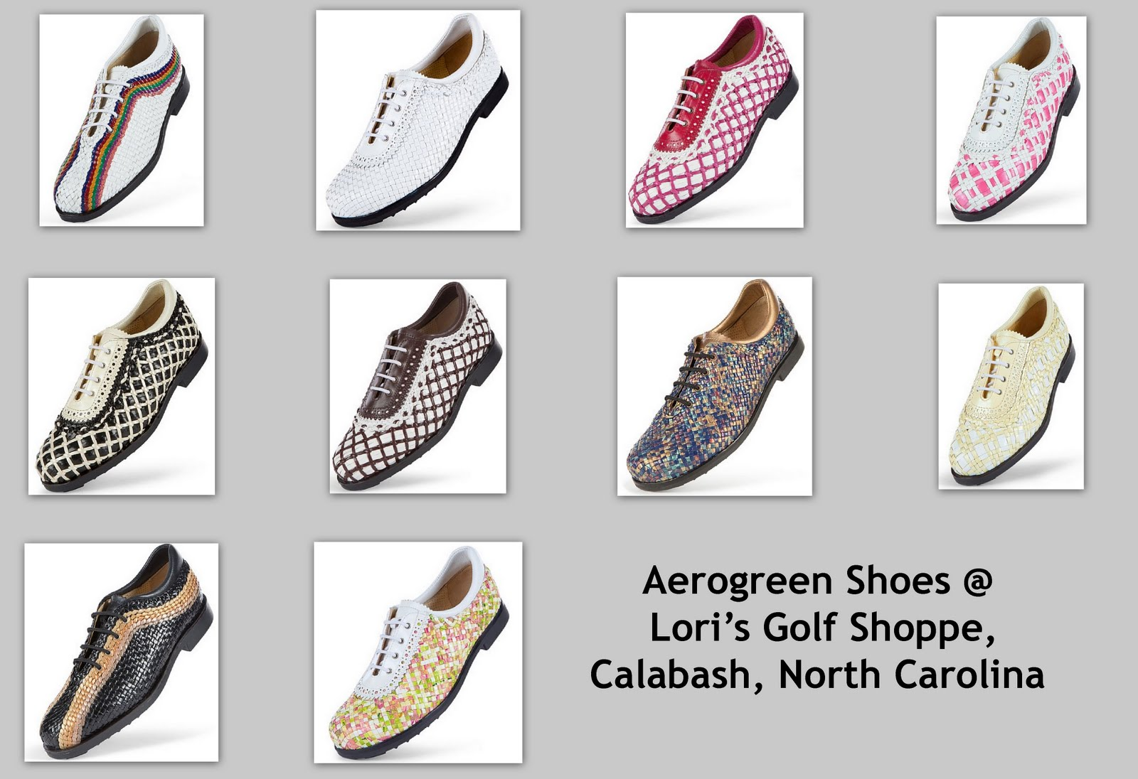 66afa3c33c45d Category Archives  nicole miller golf gloves. If The Shoe Fits … It s  Aerogreen!