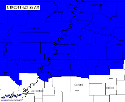 Winter Weather Advisory, January 20, 2011