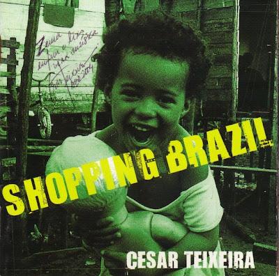 """Meu """"Shopping Brazil"""", autografado pelo compositor"""