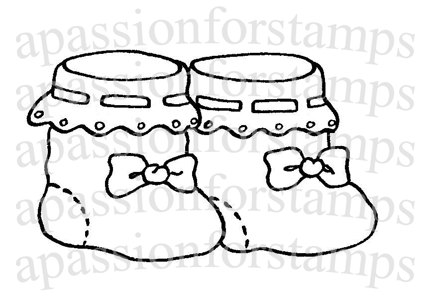 baby booties coloring pages - photo #16
