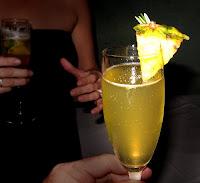 Cocktail Ananá Fizz de Champagne