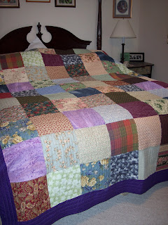 Quilt for Christmas from Son and Daughter-n-law