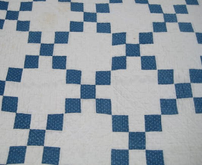 Removing a Stain from an Old Quilt