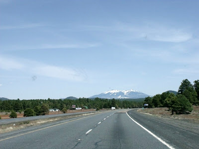 Mt Humphreys I40 E Arizona