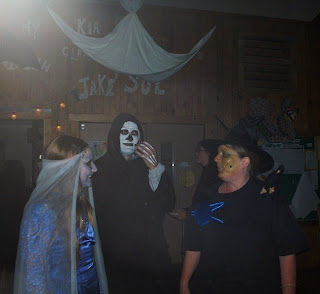 Friends dressed for Halloween Cave Junction Oregon