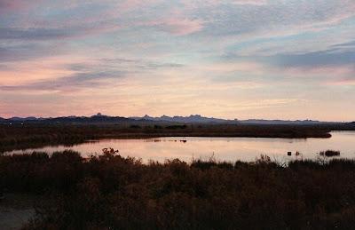 Mittry Lake near Yuma Arizona