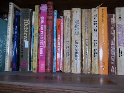 Books on my shelves