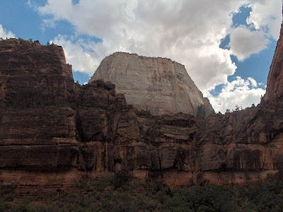 The Great White Throne Zion Nationa Park Uta