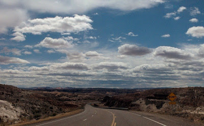SR89 west Grand Staircase Escalante National Monument Utah