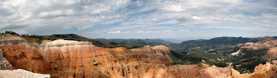 View West Cedar Breaks National Monument Utah