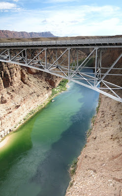 Colorado River in Marble Canyon & Navajo Bridge Arizona