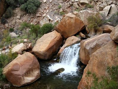 Bright Angel Creek North Kaibab trail Grand Canyon National Park Arizona