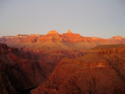 Sunset from Plateau Point Grand Canyon National Park Arizona