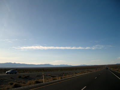 Highway 160 west of Las Vegas Nevada