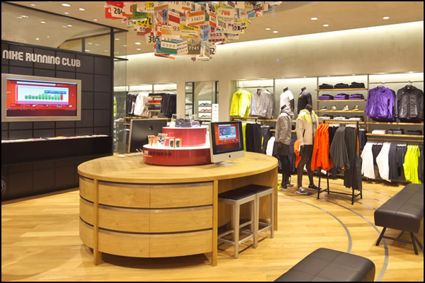 3208ff003414a3 Last November the new Nike Flagship Harajuku shop opened its doors in Tokyo(Japan).  The new Nike Harajuku Flagship store is three stories tall and has about ...