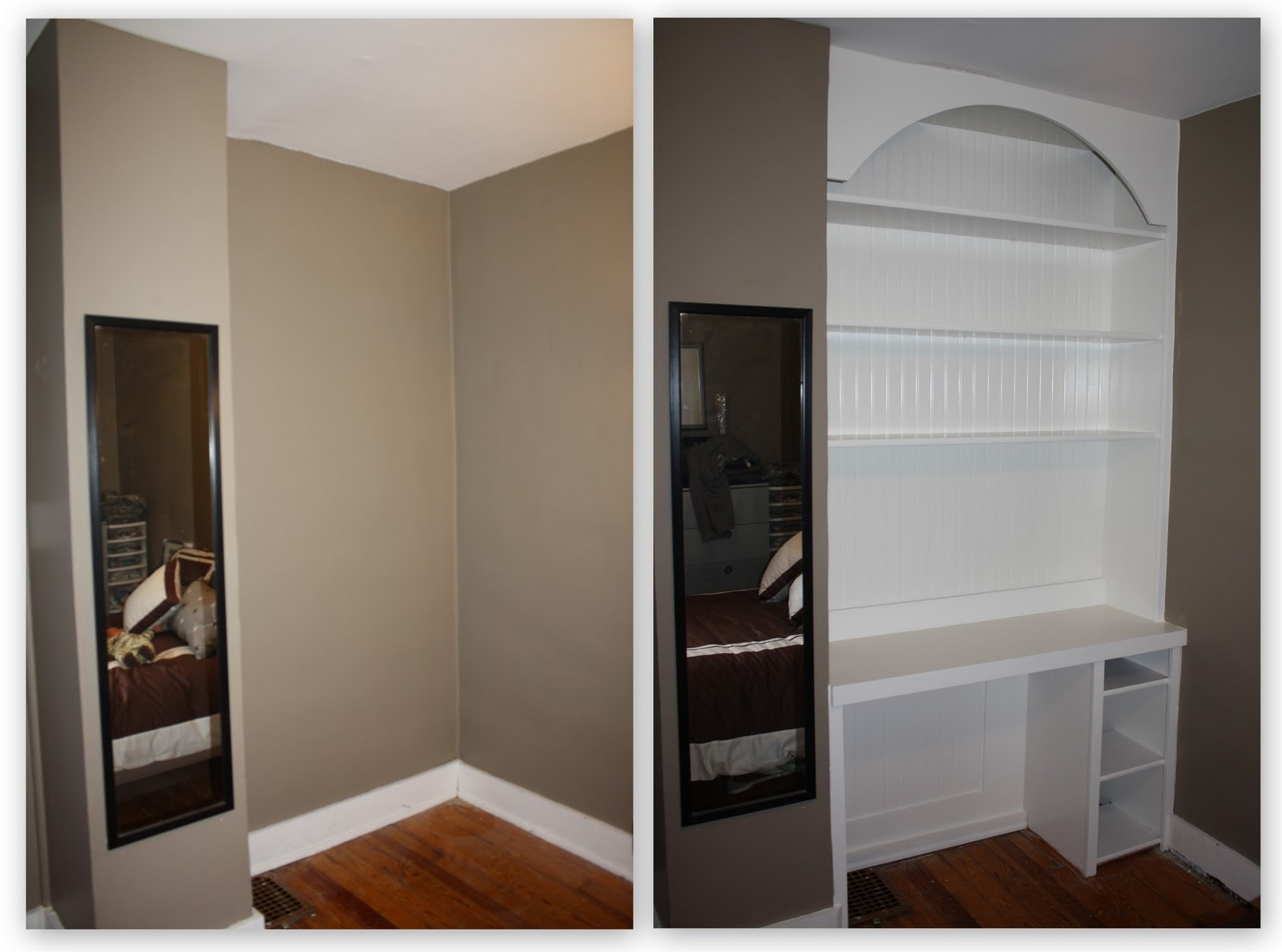 Do It Yourself Home Design: House On Tufton: DIY Project: Build Custom Built-in Desk