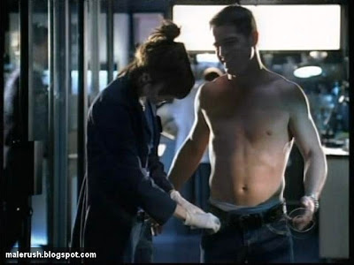 Has george eads shirt off similar situation